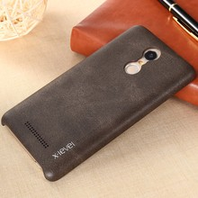 OEM Wholesale Luxury leather Phone cases for Xiaomi Redmi Note 3 Mobile Cover