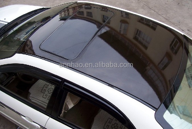 Superb Roof Protection Film Gloss Black Panoramic Sunroof Film Car Roof Vinyl Wrap