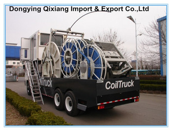 Coiled tubing unit Truck For oil & gas drilling well logging