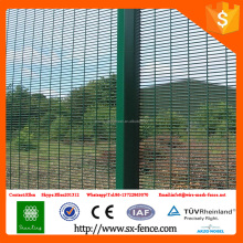 Temporary security fence for sale/12.7*72.6mm mesh safety welded wire mesh fence panel