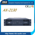 AX-2130 two channel high power amplifier