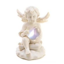 Small Loves Glow Child Angel Cupid Home Decor Statue Figurine