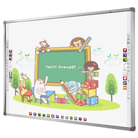 85'' infrared interactive whiteboard smart board with projector