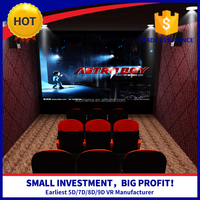 Indoor shooting game 8d cinema 7d dynamic kino equipment manufacturer