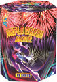 "Cake fireworks hot sale 1.2"" 19 shots purple dream angle M335FS-C"
