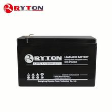 RYTON POWER 6v rechargeable sla sealed lead acid 9ah yuasa 12v 7ah solar battery