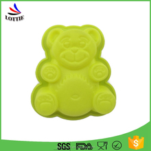 High quality animal shape silicone cake mould Food Grade cake mold body for cakes decorating