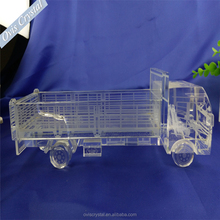Big Truck Optical glass classics Crystal Lincoln car model ,crystal gift