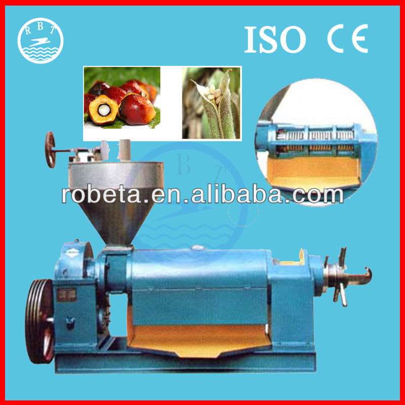 Automatic sunflower seeds/groundnuts/mustard/soybean oil press machine