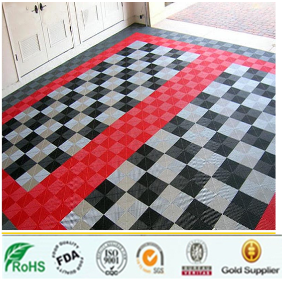 Interlocking Pp Garage Floor Tileshigh Quality Waterproof