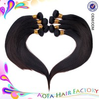 Ali express peruvian virgin hair straight weave hair 100% human hair weaving