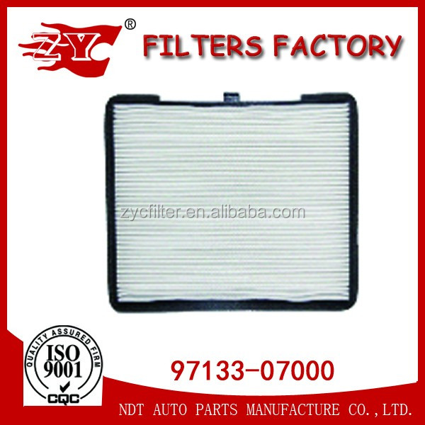 Geunine cabin filter 97133-07000 used for Hyundaii10
