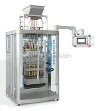 coffee stick/silica gel stick/Granule Back sealing & multi-line packing machine