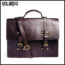 New design leather messenger bag fashion cow genuine leather handbag for men
