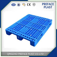hdpe heavy duty steel reinforced rackable plastic pallets for sale in China