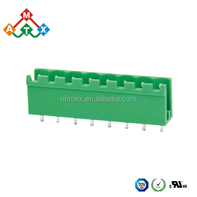 Factory Custom 2 3 4 5 6 7 10 Pin Screwed Pluggable 3.50 3.81 5.08 7.50 7.62mm PCB Terminal Block