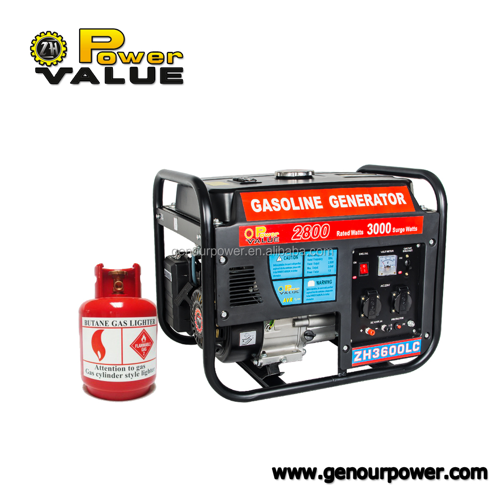 Cheap Price China 5kw 5kva Portable Home Use Natural Gas Generator For Sale