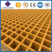 Strong quality FRP grating molded, wash car floors GRP mesh