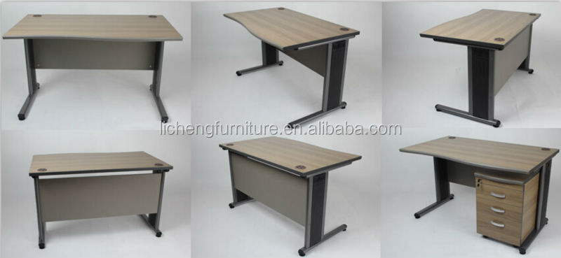 simple office tables. Simple Wood Office Desk With Metal Legs/office Table Tables -