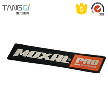 Equivalent connector rubber badge label for clothes radial tire repair patch