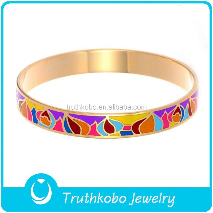 Dubai Gold Bangles Bracelet Real Flower Bangle New Style Top for Girls