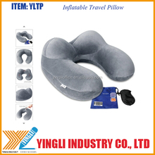 Travel sesta nessary Airplane pillow, Inflatable Pillow Comroll Customize Nap Pillow for Airplanes, Trains, Buses, Offic