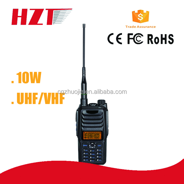 10W High Power Dual Band handheld two way Radio FM interphone Torch Light Function Walkie Talkie