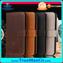 High Soft Leather Case for Samsung Galaxy S5 mini with Card Slot and Stand