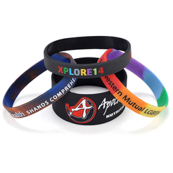 New customized prefect free rubber bracelets for gifts