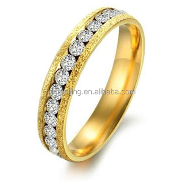 Fashion gold finger ring rings design for women with price(MJR-0540)