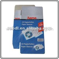 CD/DVD paper sleeves manufacturer in shenzhen china