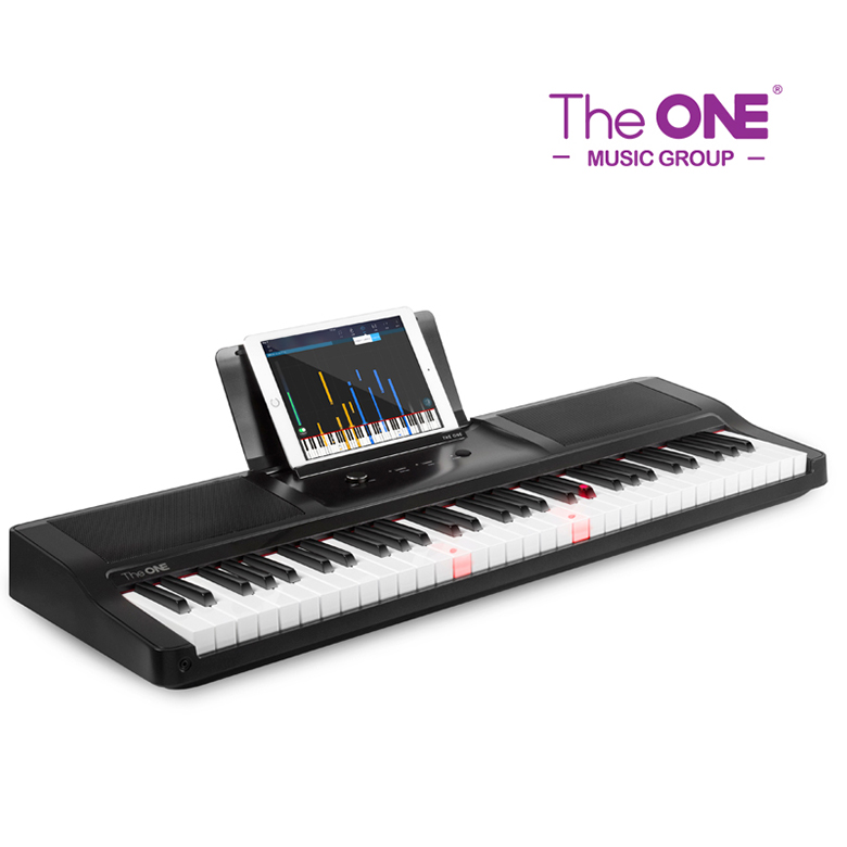 The ONE Light brands 61 keys midi portable piano electronic keyboard