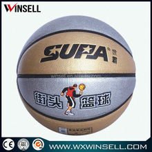 8.5inches size 5 Chinese best sale pu laminated basketball match basketballs