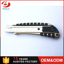 Aluminum Alloy Multipurpose Knife box cutter Sliding Blade Utility Knife
