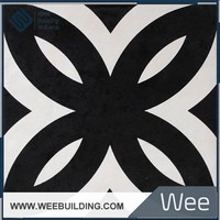 High Standard Tile Sized of Black and White Decoration Ceramic Tile