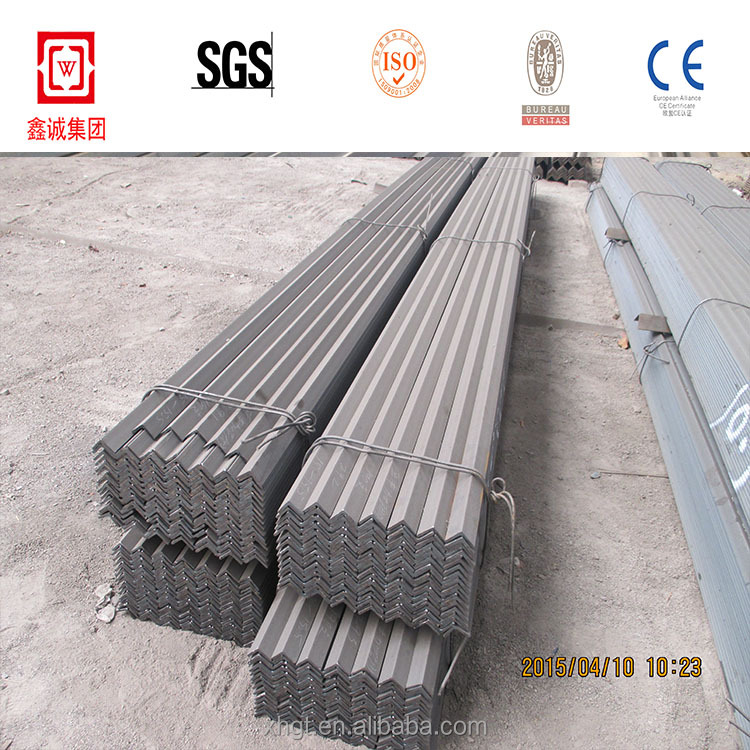 standard steel angle iron weights