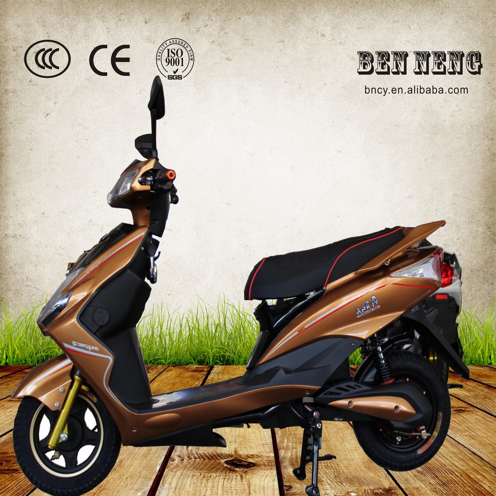 Green power city rode electric motorcycle with strorage batter power