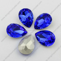 Crystal Teardrop Pendants Stones For Jewelry