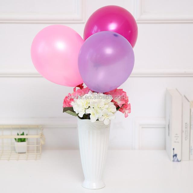 Balloons Wholesale 100% Latex Balloon Metallic Color Printable helium Ballons