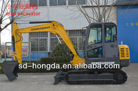 HDE85 Crawler type Mini Hydraulic Excavator