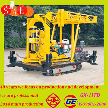 The wholesale price chinese core used crawler mounted small small water well drilling machine with k