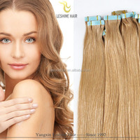 new arrival water proof virgin human cheap wholesale remy double drawn tape hair extension remover