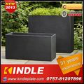 Kindle 2013 New polychrome galvanized oblong plastic planter box
