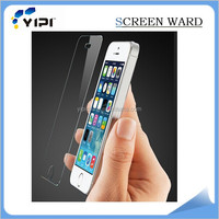High quality 9H tempered glass screen protector for iphone5