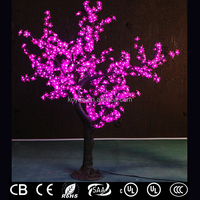 1.8M fake christmas tree for colorful wedding decoration FZ-672-pink 1