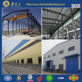 Prefabricated steel frame warehouse / steel structure prefabricated sheds