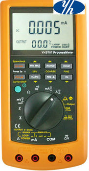 0.05 Accuracy 2 in 1 Process Multimeters Equivalent to Fluke-787 Process Meter