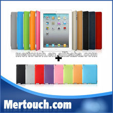 For iPad mini air 2 3 4 PC Back shell Sleep Wake function Smart Cover Case