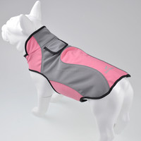 Black Doggy Outdoor Reflective Dog Jacket in Size M
