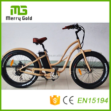 Made in China 13ah lithium electric snow beach ebike fat tire bicycle with 500w motor